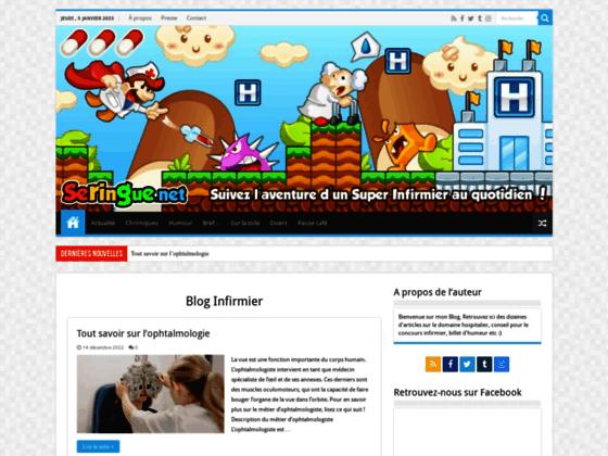 Seringue - Blog infirmier