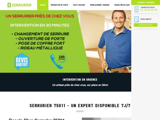 Serrurier  75011