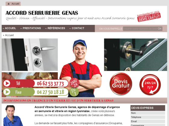Accord Services Serrurier Vitrier Genas