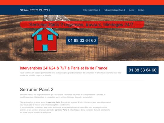 Serrurier Fichet Paris 2