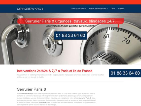 Ouverture de porte Paris 8