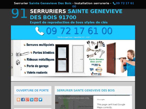 Serrurier Sainte Genevieve Des Bois