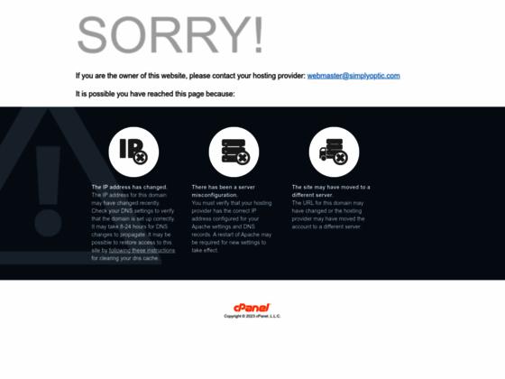 Simplyoptic Opticien en ligne.