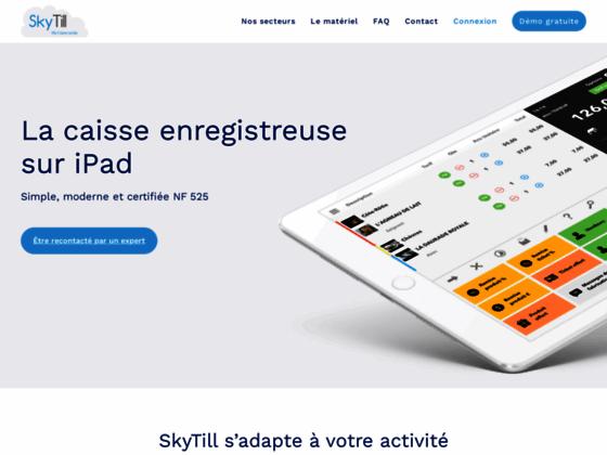 SkyTill - Ma caisse tactile - Caisse enregistreuse sur iPad