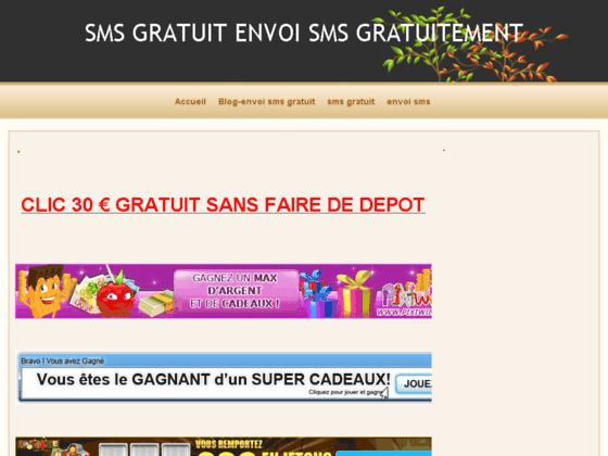 ENVOI SMS GRATUIT SMS GRATUIT PAR INTERNET PROFITEZ DU NET