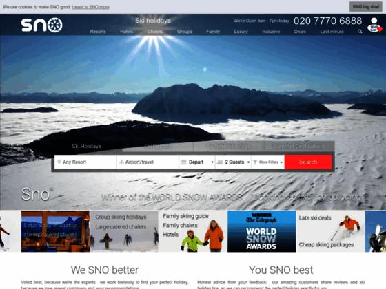 sno cheap ski holidays