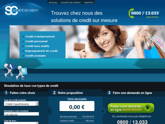 Societe de credit
