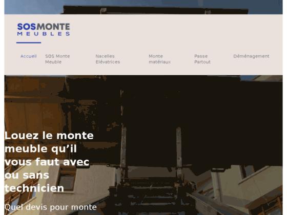 Monte matériaux
