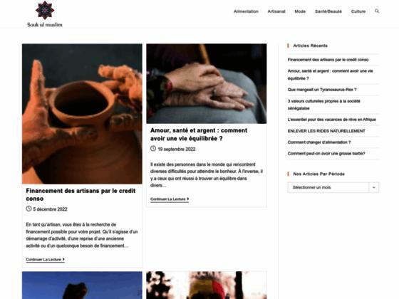 Souk Ul Muslim, boutique islamique en ligne