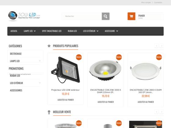 Trouver des lampes LED moins chères