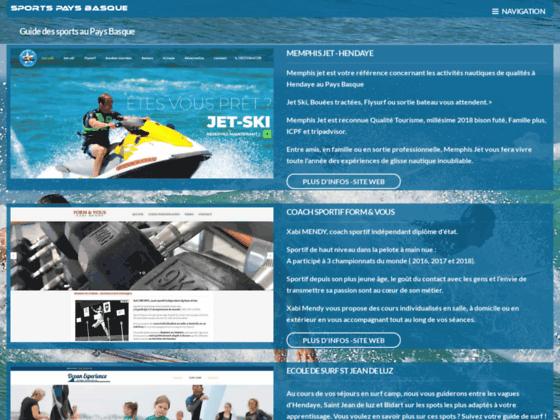 Sports Pays Basque et Cote Basque - aventure 64