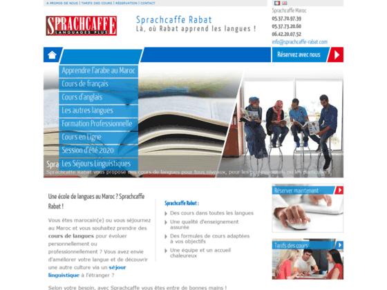 Sprachcaffe Rabat - Centre de langues et formations linguistiques : Accueil