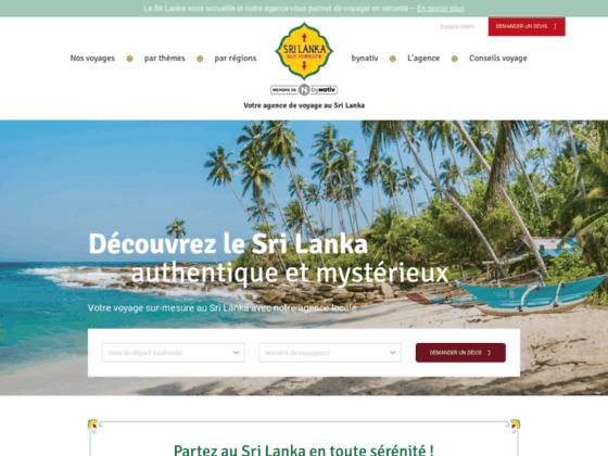 Agence de voyage au Sri Lanka