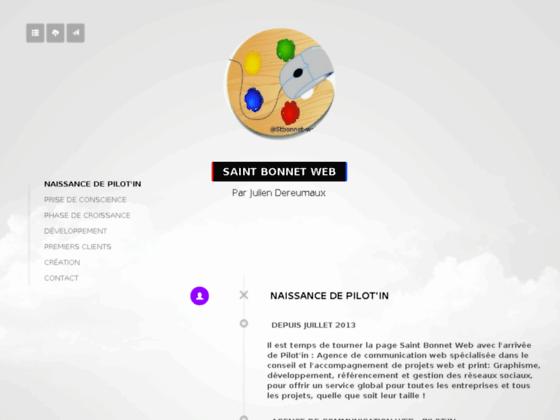 Création site Internet Saint Bonnet de Mure