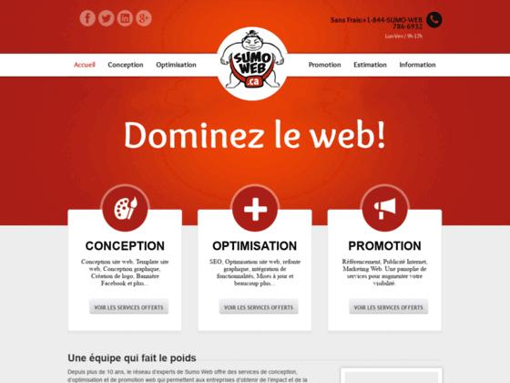 Expérimenter le Seo avec Sumo Web