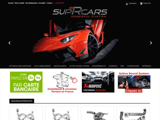 SupRcars, vente en ligne de boitier additionnel