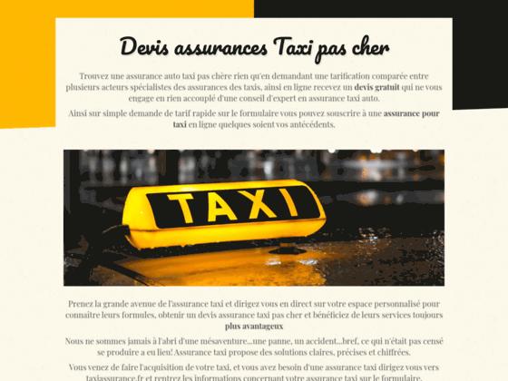 Des devis assurance taxi