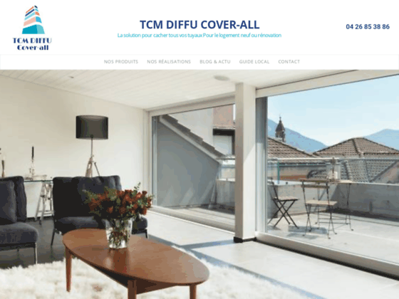 TCM DIFFU - Accueil