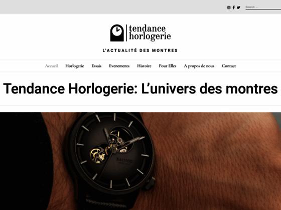 Tendance Horlogerie - L'actualité des montres