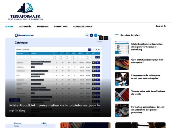 Terraforma : préparation aux concours IFSI, AS, AP