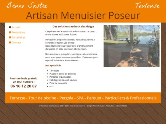 Terrasses Bois Toulouse - Bruno Sastre - Artisan Menuisier Poseur