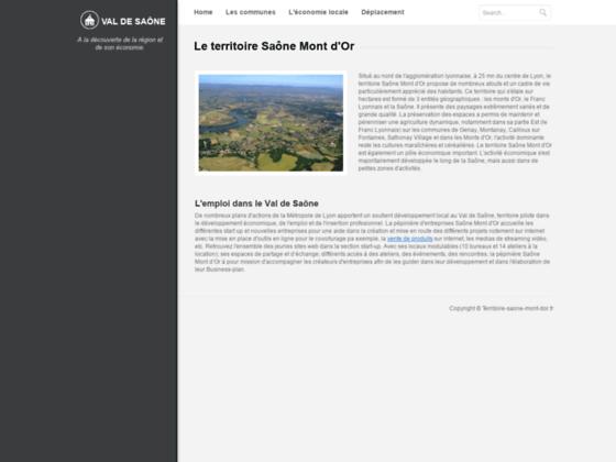 Syndicat de communes Saône Mont d'Or