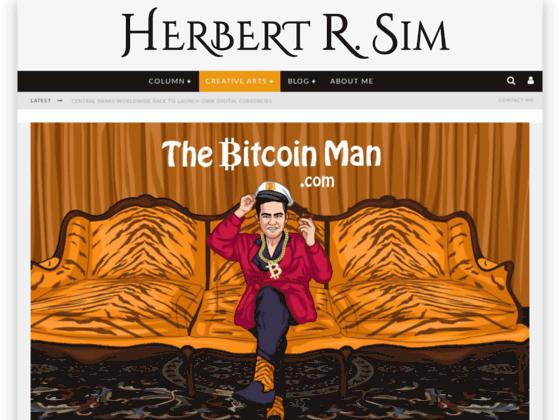 Скриншот сайта thebitcoinman.com