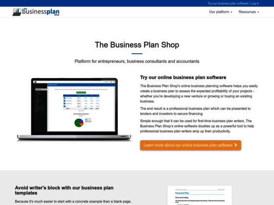 The Business Plan Shop