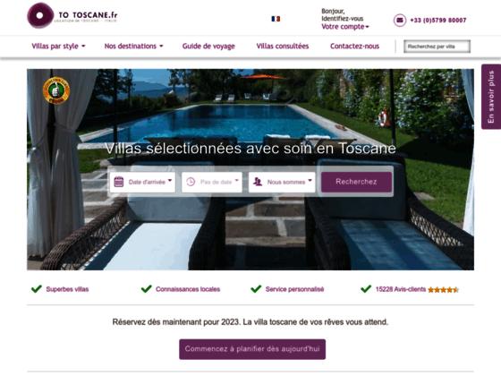 To Toscane : villa en Italie