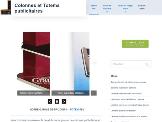 Colonnes et Totems publicitaires