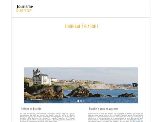 Biarritz tourisme : séjour touristique