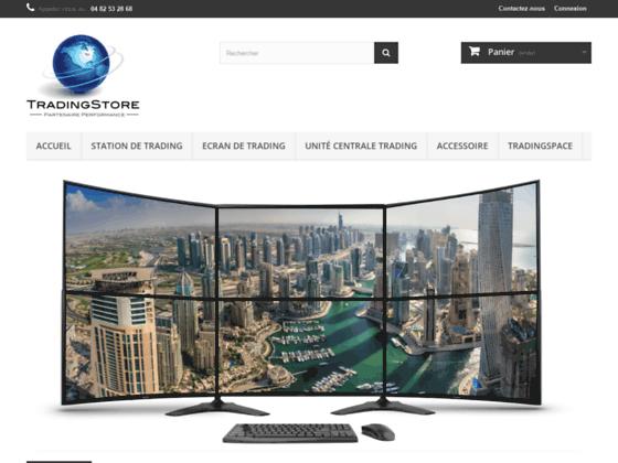 Station de Trading avec unité central  2 écrans Samsung pour 999€