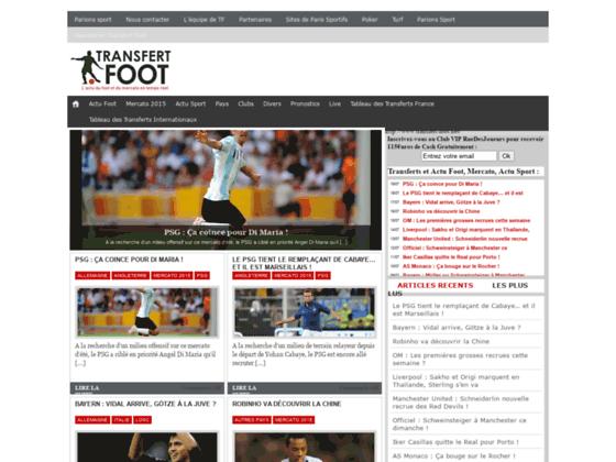 Foot Transfert
