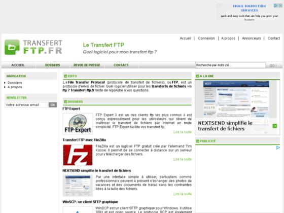 Transfert FTP