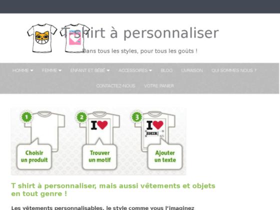 T-shirt personnaliser