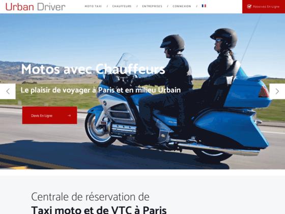 1 Taxi Moto dans Paris avec www.Urban-Driver.com