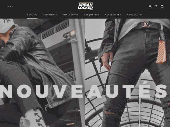 Urban Locker - Streetwear et casquette