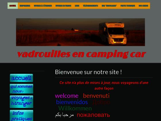 ACCUEIL - vadrouillesencampingcar, récits et photos de nos voyages en camping-car