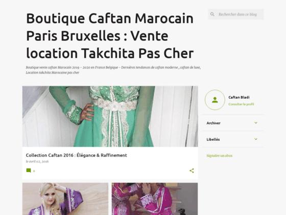 Boutique Vente caftan marocain en ligne Takchita