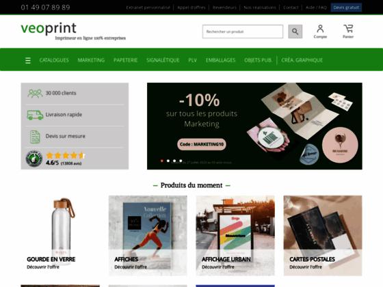 Imprimerie en ligne - Veoprint.com