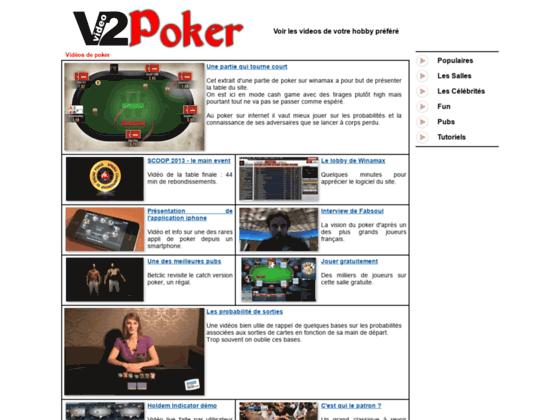 Videos de poker