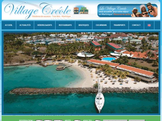 Hotel Martinique - Résidence hôtelière Village Créole - un hôtel au Trois îlets la pointe du bout Ma