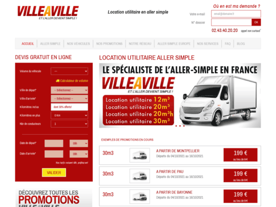 villeaville : location allez simple