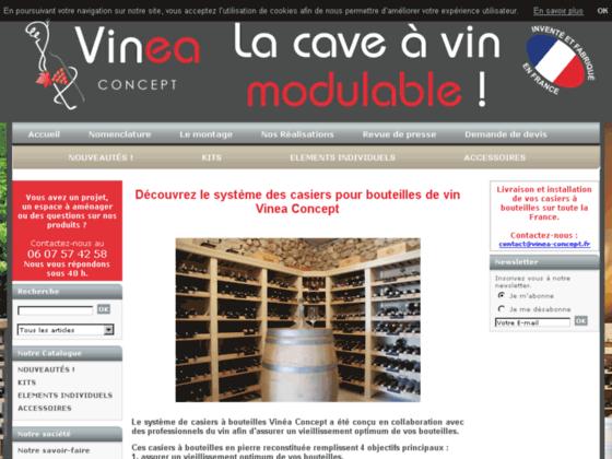 Casier à bouteilles Vinea Concept