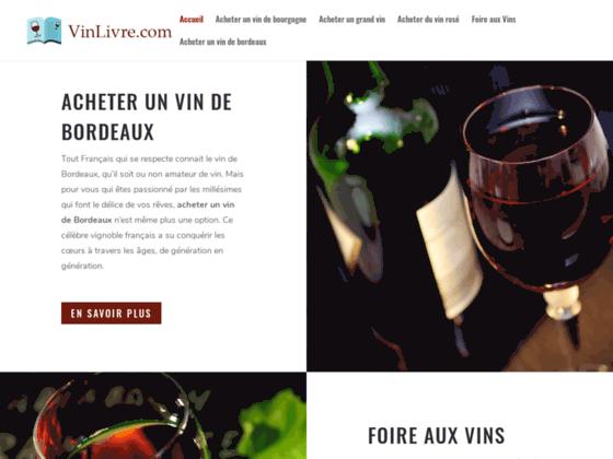 Achat de grands vins