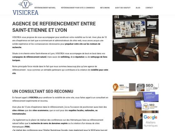 VISICREA : votre agence de référencement naturel
