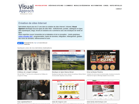 Visual Approch Création sites Internet Rodez