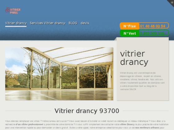vitrier drancy :