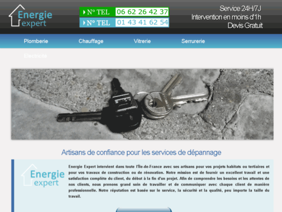 Vitrier Colombes - Energie Expert - tel 0147790741
