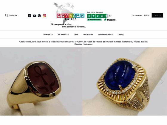 Bijoux en argent Vivalatina